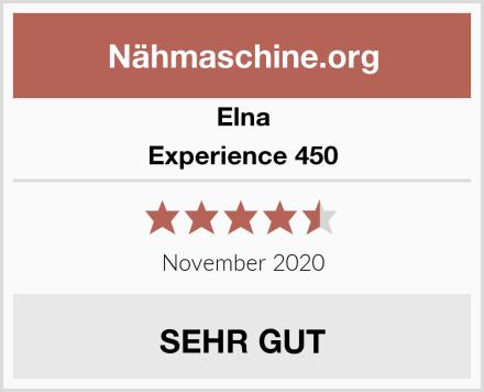 Elna Experience 450 Test