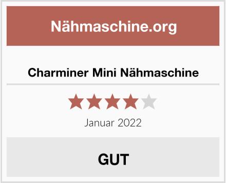 Charminer Mini Nähmaschine Test