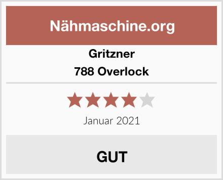 Gritzner 788 Overlock Test