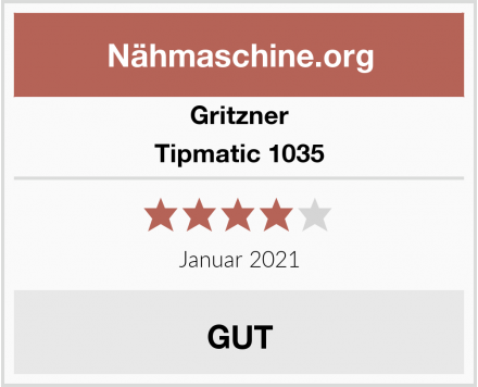 Gritzner Tipmatic 1035 Test