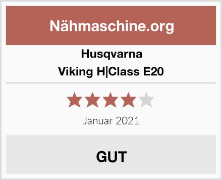 Husqvarna Viking H Class E20 Test