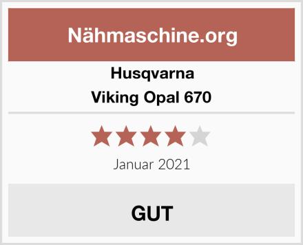 Husqvarna Viking Opal 670 Test