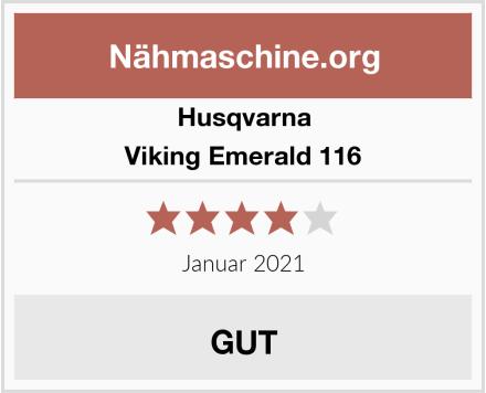 Husqvarna Viking Emerald 116 Test