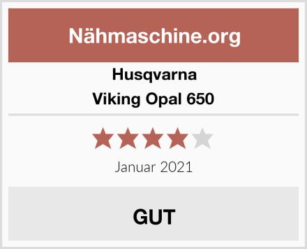 Husqvarna Viking Opal 650 Test