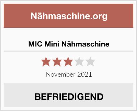 MIC Mini Nähmaschine Test