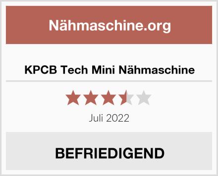 KPCB Tech Mini Nähmaschine Test