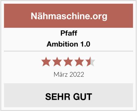 Pfaff Ambition 1.0 Test