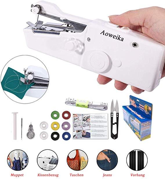 No Name Aoweika Mini Handheld Nähmaschine
