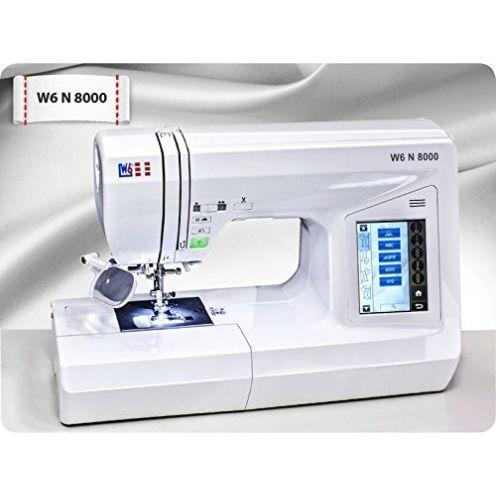 W6 WERTARBEIT N 8000 Computer-Nähmaschine